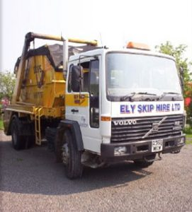 One of our fleet of trucks
